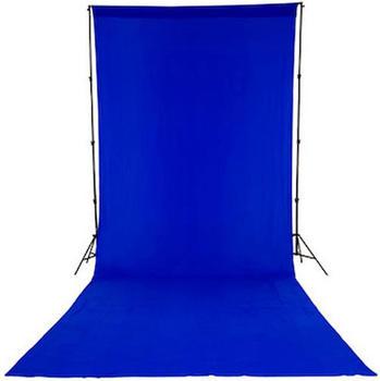 Lastolite Chromakey Textilhintergrund Blau (300 x 700 cm)