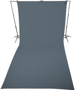 Westcott Hintergrundstoff 270 x 600 cm neutralgrau
