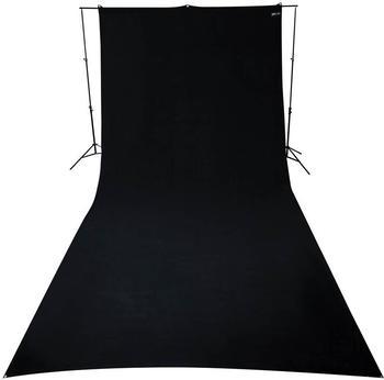 Westcott Hintergrundstoff 270 x 600 cm schwarz