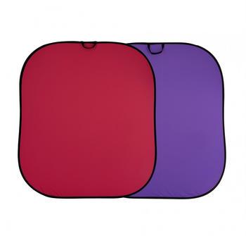 Lastolite Falthintergrund 1,8 x 2,15m rot/lila