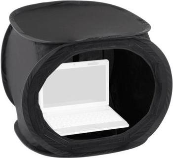 Walimex Pop-Up Laptop-Zelt 50 x 50 x 50 cm super black