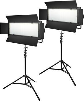 Bresser LED Foto-Video SET 2x LG-1200 72W/11.800LUX
