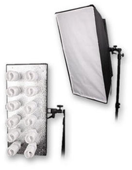 Bresser MM-18 Lampenhalter für 12 Tageslicht Spirallampen