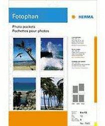 Herma Fotosichthuellen weiss, 90 x 130mm