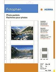 Herma Fotosichthüllen 10x15 cm quer 10 St. (7568)