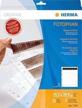 Herma Negativhüllen transparent für 7 x 6 Streifen 25 St. (7762)