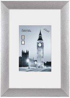 Hama Aluminiumrahmen London Silber 50x70
