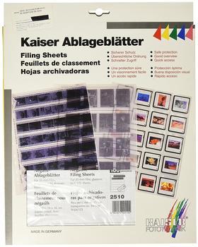 Kaiser Negativ-Ablageblätter 35mm 7x6 (100 Stck)