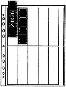 Kaiser Negativ-Ablageblätter 35mm 10x4 (100 Stck)