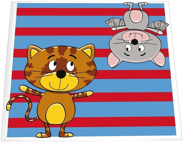 Daiber 1x25 Portraitmappen 13x18 Katze/Fledermaus