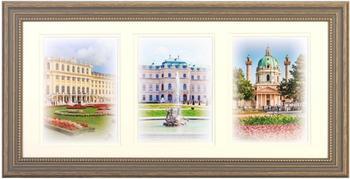 Henzo Bilderrahmen Capital Wien 3x13x18 bronze