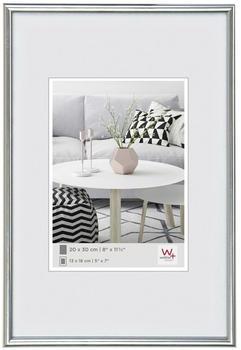 walther design Kunststoffrahmen Galeria 20x30 silber