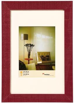 walther design Holzrahmen Home 30x40 bordeaux