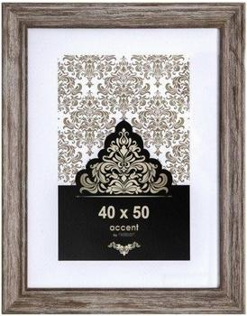 Nielsen Holzrahmen Vintage 40x50 braun