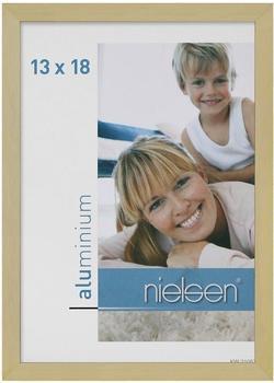 Nielsen Fotorahmen C2 13x18 struktur gold matt