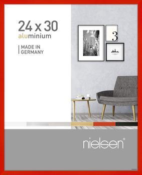 Nielsen Alu-Bilderrahmen Pixel 24x30 leuchtendrot