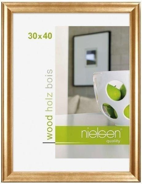 Nielsen Holzrahmen Derby 30x40 gold