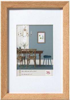 walther design Holzrahmen Fiorito 13x18 eiche hell