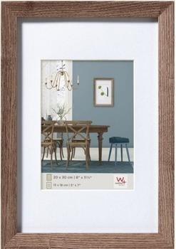 walther design Holzrahmen Fiorito 13x18 nussbaum