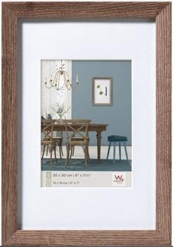 walther design Holzrahmen Fiorito 20x30 nussbaum
