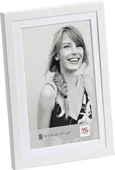 walther design Alu-Portraitrahmen Classico 10x15 weiß