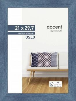 Nielsen Bilderrahmen Oslo 21x29,7 blau