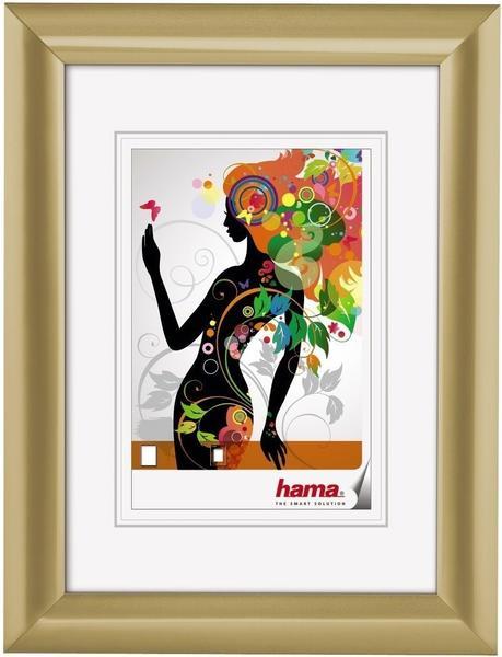 Hama Kunststoffrahmen Malaga 13x18 gold