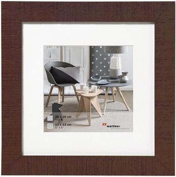 walther design Holzrahmen Home 30x30 nussbaum