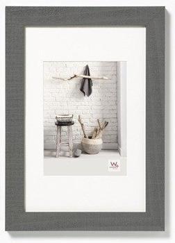 walther design Holzrahmen Home 21X29,7 grau