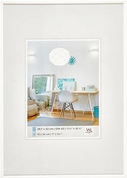 walther design Kunststoffrahmen New Lifestyle 29,7x42 weiß