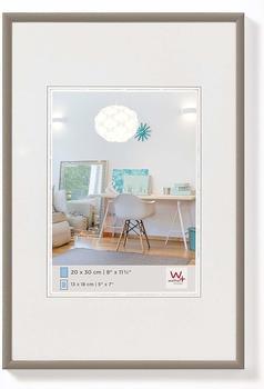 walther design Kunststoffrahmen New Lifestyle 29,7x42 stahl