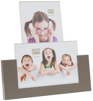 Deknudt Fotohalter für 2x 10x15 taupe