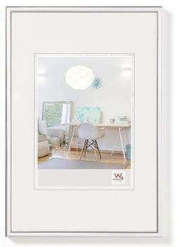 walther design Kunststoffrahmen New Lifestyle 42x59,4 silber