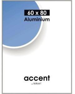 Nielsen Alurahmen Accent 60x80 silber matt