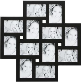 Deknudt Bilderwandrahmen für 12 Fotos schwarz