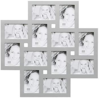 Deknudt Bilderwandrahmen für 12 Fotos silber