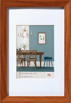 walther design Holzrahmen Fiorito 50x60 eiche dunkel