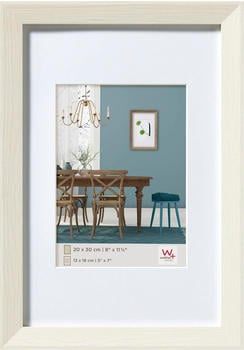 walther design Holzrahmen Fiorito 50x60 weiss