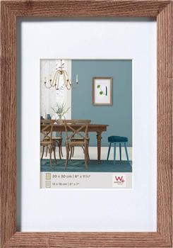 walther design Holzrahmen Fiorito 30x40 nussbaum