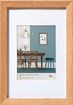 walther design Holzrahmen Fiorito 60x80 eiche hell
