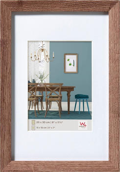 walther design Holzrahmen Fiorito 50x60 nussbaum