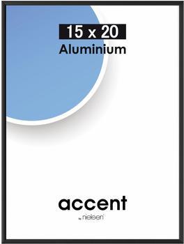 Nielsen Bilderrahmen Accent Aluminium 15x20 schwarz