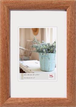 walther design Holzrahmen Interieur 50x70 nussbaum