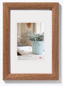 walther design Holzrahmen Interieur 40x50 nussbaum