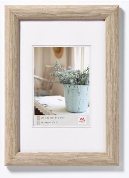 walther design Holzrahmen Interieur 40x50 grau