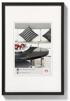 walther design Aluminiumrahmen Chair 40x50 schwarz