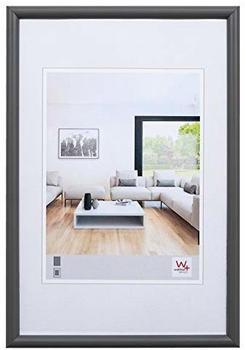 walther design Holzrahmen Bozen 30x40 grau