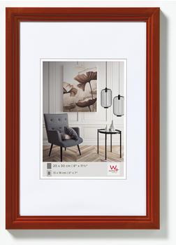 walther design Holzrahmen Living 30x45 haselnuss