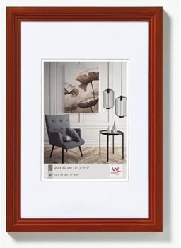 walther design Holzrahmen Living 40x60 haselnuss