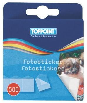 TOPPOINT Fotosticker/Fotokleber 500 Stück